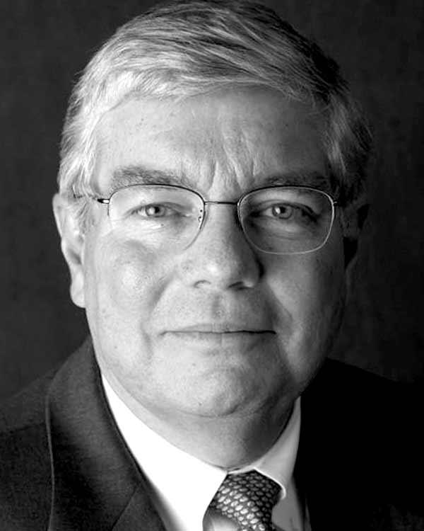 A portrait of Milton D. Baughman
