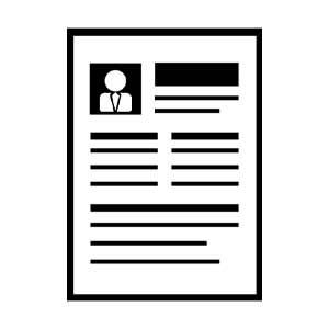 Grayscale Resume
